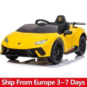 Coche eléctrico niños Lamborghini 12V