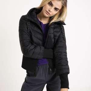 Plumífero capucha mujer talla XL (recogida en tienda gratis)
