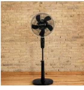 Cecotec EnergySilence 1020 ExtremeFlow Ventilador de pie 10 aspas, Potente, Oscilante, Silencioso, 3 velocidades, Temporizador