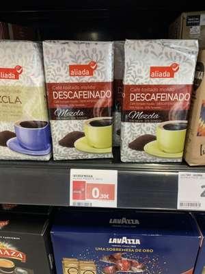 Paquete de café Supercor por 30 cts
