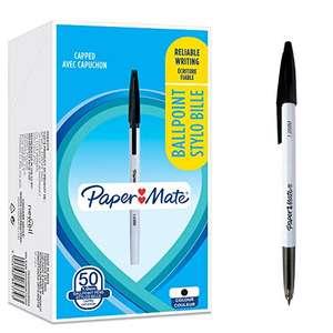 50 bolígrafos PaperMate 045: negros 6,88€ (menos de 0,14€/unidad)