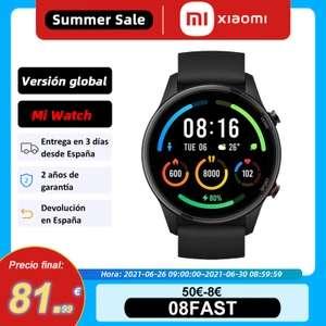 Xiaomi mi watch (Aliexpress plaza) 82€