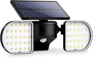 Foco solar doble 56 LED solo 8.7€