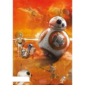 Poster Star Wars Episodio VII BB8