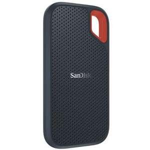 "Disco duro portátil SSD Sandisk Extreme 2.5"" 500GB"