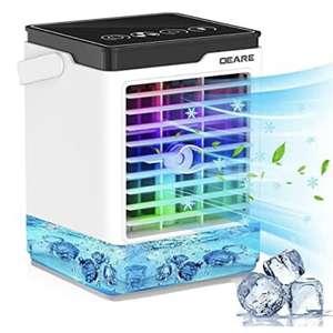 Climatizador evaporativo portátil 4 en 1   Cupón -45%