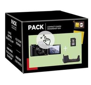 Pack de Cámara compacta Canon PowerShot G5X IS