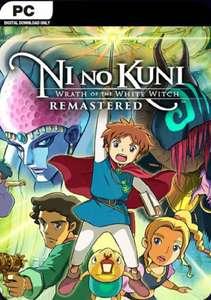 Ni No Kuni Wrath Of The White Witch Remastered Pc (Eu)