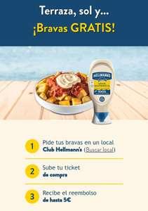 Patatas bravas gratis locales en toda España! ( Hasta 5€ reembolsados)
