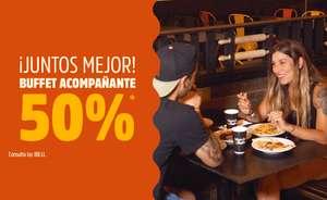 50% de descuento en el menú de tu acompañante en Muerde la Pasta