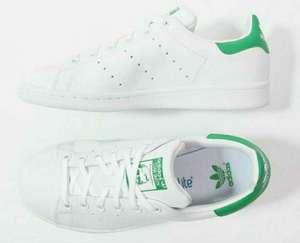 Zapatillas Adidas Originals Stan Smith mujer blanco y verde