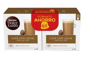 Capsulas de dolce gusto (180) de café con leche o expresso Intenso