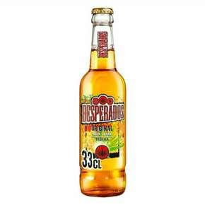 Cerveza Desperados tequila, mojito o lima comprando 3
