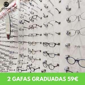 Dos gafas monofocales premium al precio de una