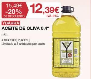 Aceite de oliva Ibarra
