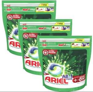 ARIEL Pods All-in-one | Efecto OXI Quitamanchas | cápsulas (129 LAVADOS)