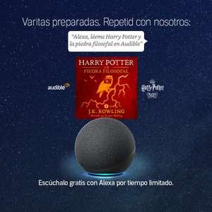 GRATIS :: Harry Potter y la Piedra Filosofal (Audible | Alexa)