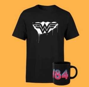 Pack Wonder Woman Camiseta Hombre o Mujer + Taza x 9.99€