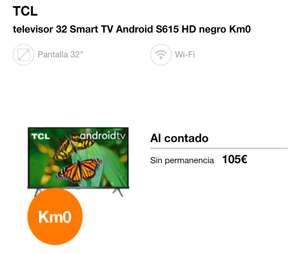 TCL SmartTv 32 pulgadas s615 KM0 Orange