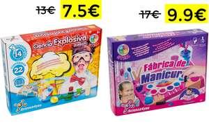 Ciencia explosiva de Science4you 7.5€//Fábrica de Manicura Science4you 9.9€