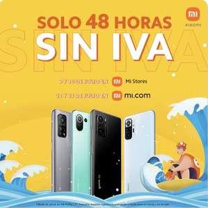 Días sin IVA en Xiaomi
