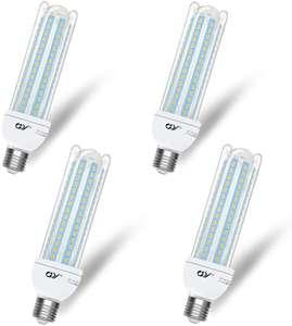 4 bombillas GY de LED Maíz 1980LM 3000K
