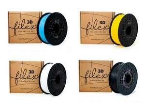 Filamentos PLA 850 Filex3d 1KG (Varios colores)
