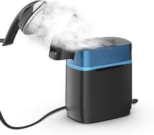Rowenta Cube UR2020 Cepillo de vapor 2170 W, 5.8 bares presión vapor, depósito 1.1 L, elimina arrugas, olores y desinfecta