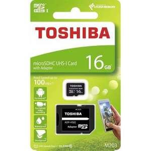 Tarjeta de Memoria Toshiba Micro SDXC M203 16GB