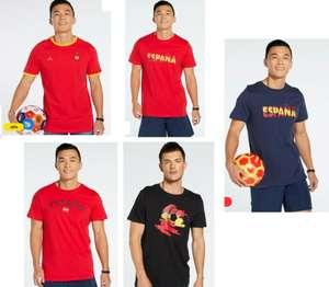 5 Modelos - TALLAS S a XL - Camiseta España Team Quest (Alguna Falta Talla XL)