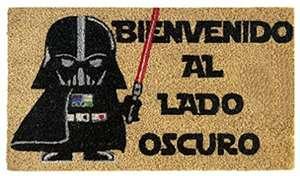 Felpudo Star Wars entrada casa Bienvenido al Lado Oscuro