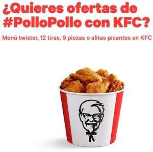 Buenas ofertas para menús KFC desde 3,99€