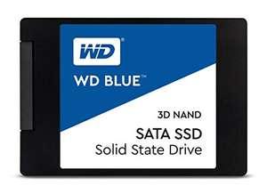 Disco duro SSD Western Digital WD Blue 3D NAND, azul 500gb