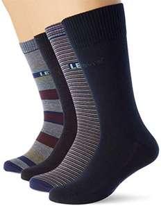 Pack de 4 pares de calcetines Levi's en caja de regalo