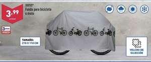 Funda para bicicleta en Aldi