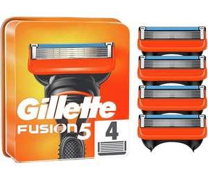 Gillette Fusion 5 Recambio de 4 cuchillas