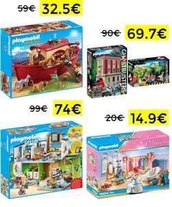 Oferta del día Amazon en selección de Playmobil