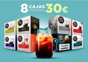 8 Cajas de Dolce Gusto por 30€