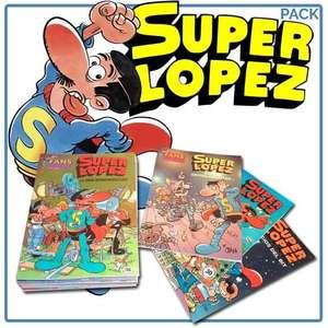 Recopilación de SUPERLÓPEZ de Ediciones B