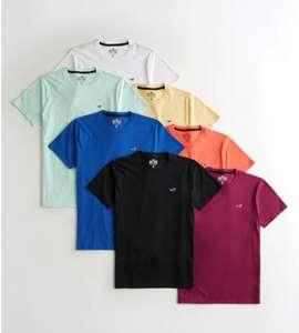 Pack de 7 camisetas Hollister (Tallas de XXS A S)