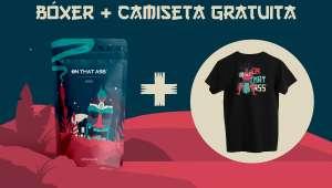 Calzoncillo bóxer + Camiseta gratuita