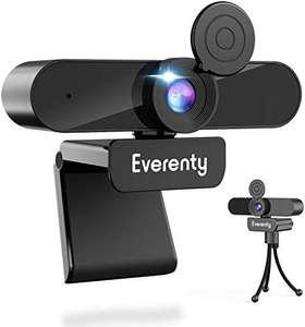 Webcam 1440p Full HD con Micrófono Estéreo