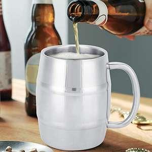 Taza de cerveza de acero inoxidable (420ml)