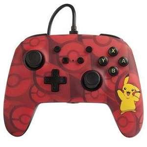 Mando con cable Power A Pikachu Rojo [Nintendo Switch] 12,34 € socios | 12,99 € no socios