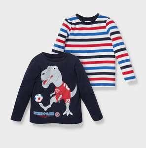 Pack dos camisetas infantiles talla 98cm. altura (envío a tienda gratis)