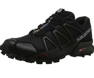 Zapatillas Salomon 4 GTX Speedcross negras, impermeables para running y trail hombre todas las tallas