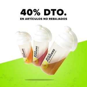 ¡40% de DTO en BULK POWDERS®!