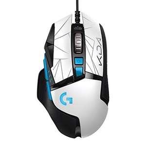 Ratón Gaming con Cable Logitech G502 Hero K/DA, 11 Botones programables