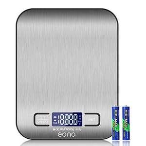 Amazon Brand - Eono Báscula de cocina digital 5 kg/1 g