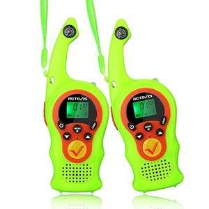 Walkie Talkie Infantil,16 Canales PMR446 VOX Linterna Bloqueo de Teclado